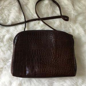 Vintage Furla Crocodile Bag